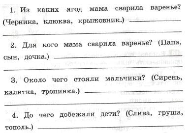 русский язык 1 класс песняева анащенкова